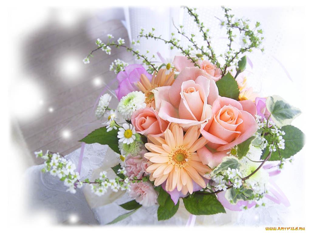 С наилучшими пожеланиями цветы картинки